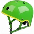Bērnu riteņbraucēja ķivere - Koši zaļa